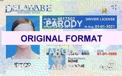DELAWARE  DRIVER LICENSE DELAWARE FAKE ID CARD SCANNABLE DELAWARE FAKE ID