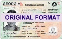 GEORGIA  DRIVER LICENSEGEORGA FAKE ID CARD SCANNABLE GEORGIA FAKE ID