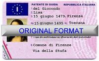 italy fake ids fake italian driver license fake ids italian fake license